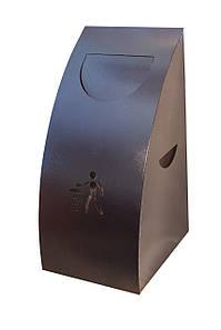 Урна для сміття (ProfitM)  УДС -1 Чорний графіт