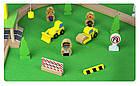 Железная деревянная дорога детская, EdWone, 70 деталей, 3+ (Brio, Ikea) E16A10, фото 7