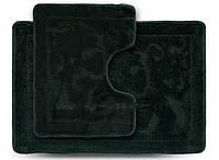 Комплект ковриков для ванной Darina ECONOM зеленый 55х80см + 55х42см