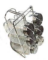Набор баночек для специй и приправ на подставке Benson BN-138 из 6 сосудов