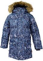 Куртка для мальчиков Huppa ТМ Хуппа модель Lucas темно-синий с принтом 140 (17770055-73286-140)