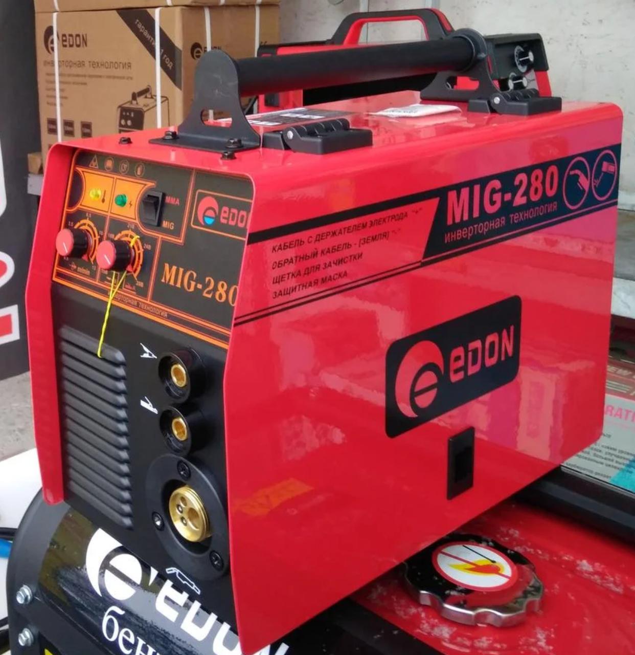 Сварочный полуавтомат Edon MIG 280