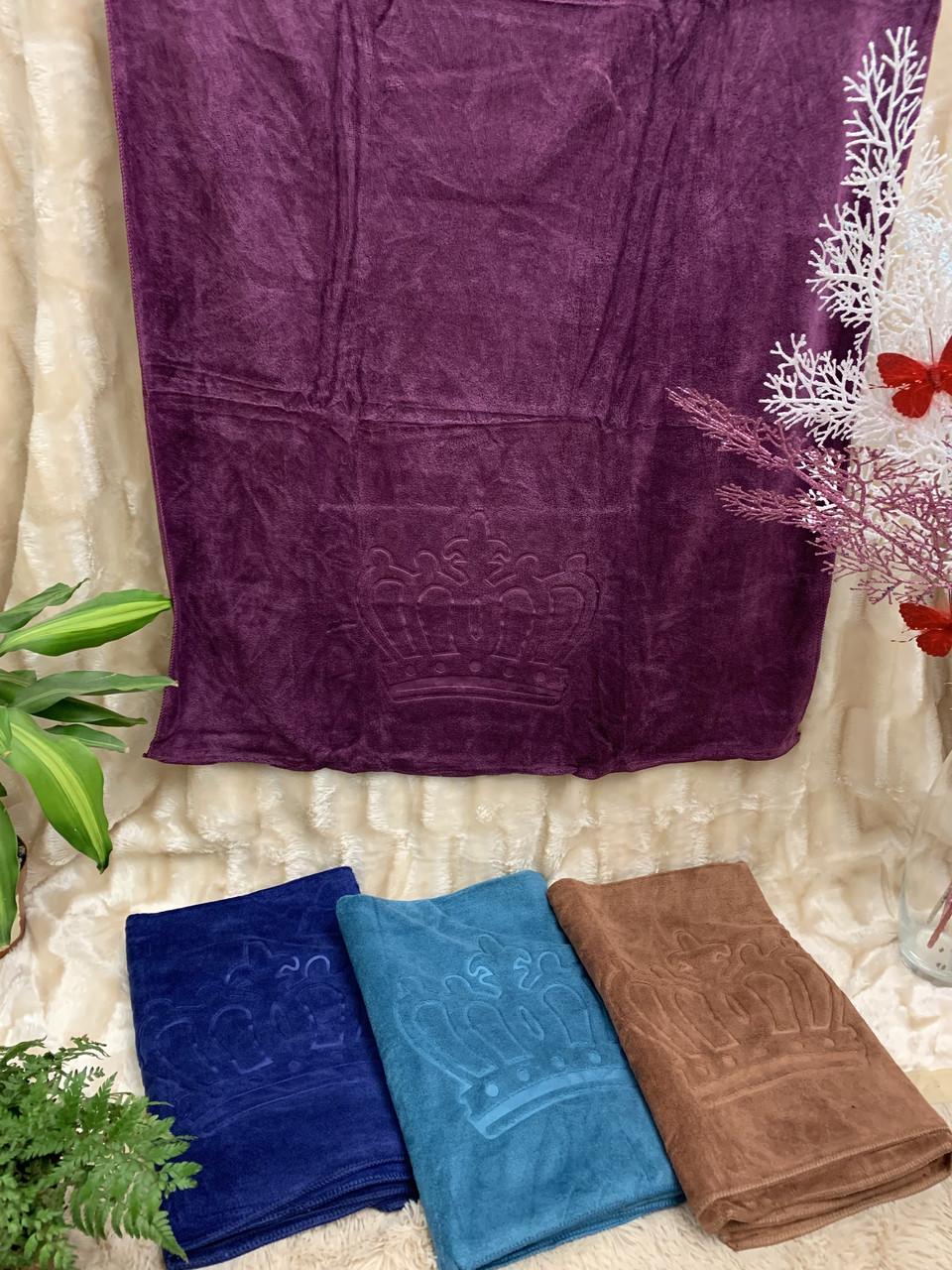 Банные бамбуковые полотенца при Короне 70*1.35