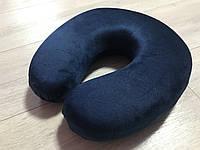 Ортопедическая подушка под голову подкова с эффектом памяти, фото 1