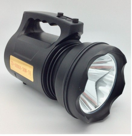 Аккумуляторный светодиодный LED фонарь прожектор ручной Well TD-6000-30W