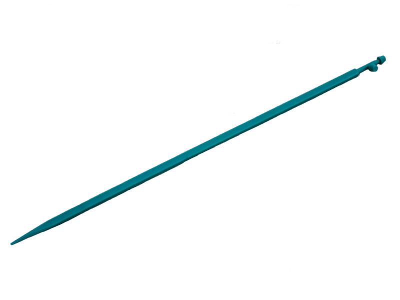 Ніжка для етикетки, зелена, довжина 27 см