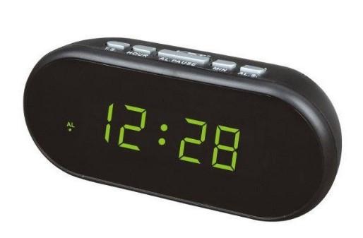 Часы сетевые VST-712-2 green