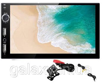 Автомагнитола Android 2Гб с камерой заднего вида с GPS Wi-Fi  2din 7021-2