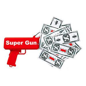 Денежный пистолет Cash Cannon 1190782747