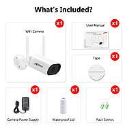 WiFi видеокамера Anran W610-DW18 2Mp IP LAN, фото 4