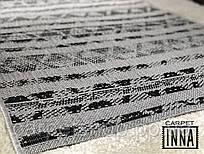 Дорожка без ворса серая Flex на латексе 67; 200 см