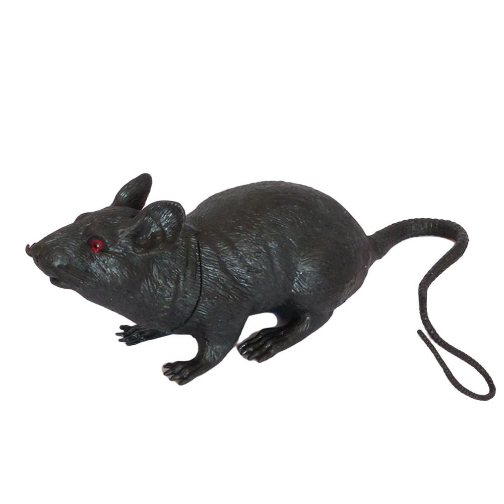 Резиновая Крыса 18см (черная) 818316765