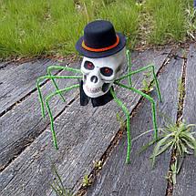 Паук готический Король тьмы 72см с черепом (зеленый) 09948 1190782713, фото 3