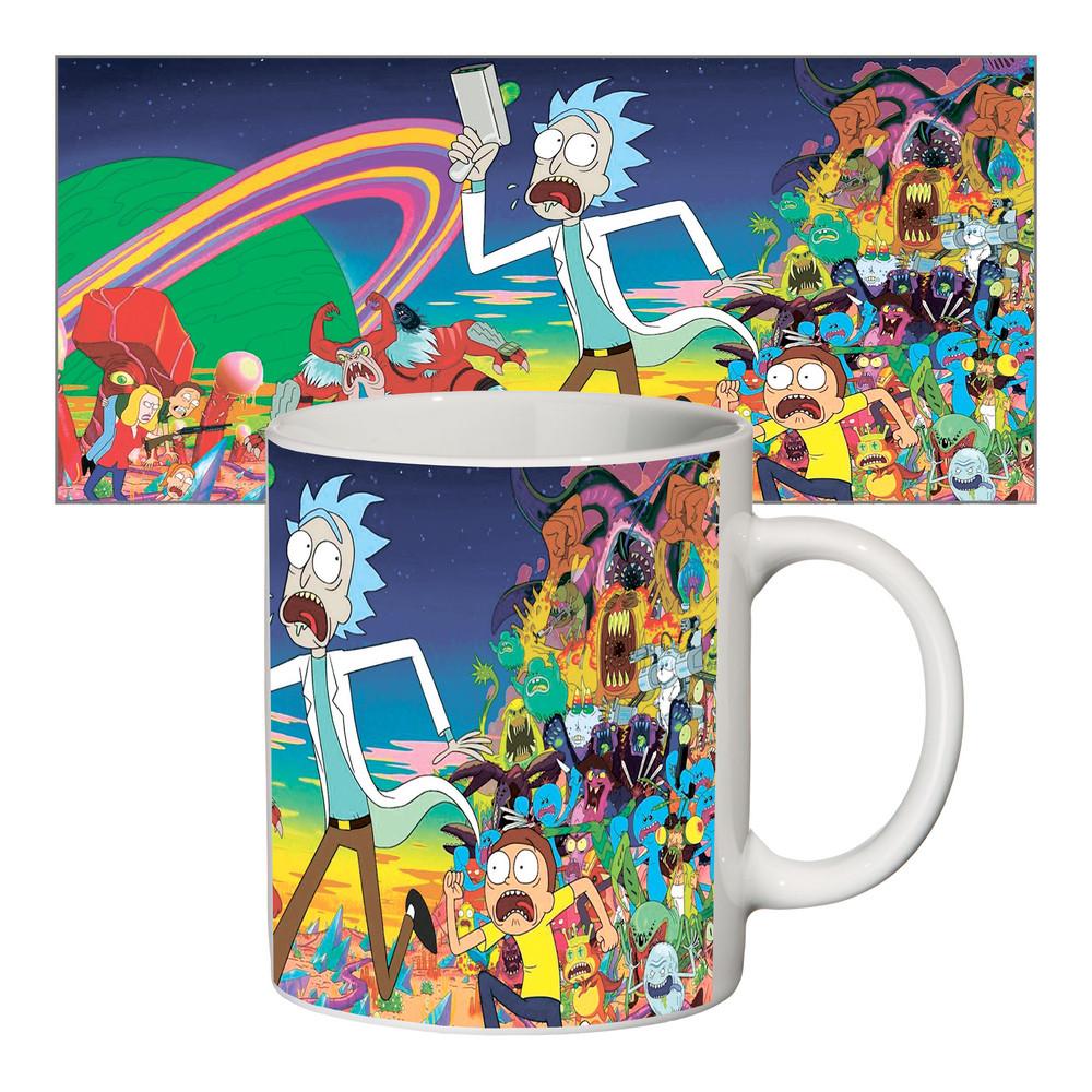 Чашка с принтом 63404 Rick and Morty #1