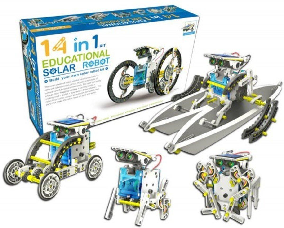 Конструктор робот на солнечных батареях Solar Robo