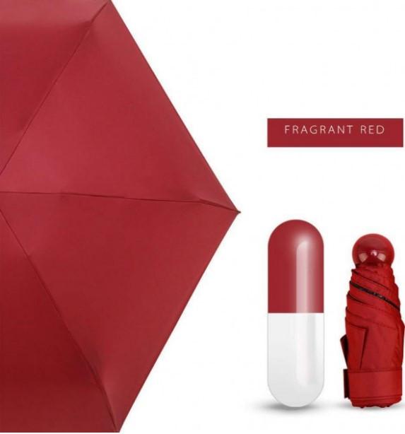Зонтик одноцветной umbrella БОРДОВЫЙ