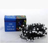 Xmas гирлянда LED 100 M-6-2 Белая