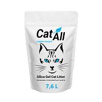 Наполнитель силикагелевый для кошачьего туалета TM CatAll 7,6 л (3,2 кг)