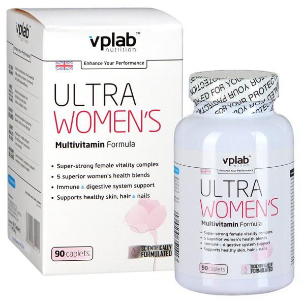 VPLAB ULTRA WOMEN'S Multivitamin Formula 90 таб. Витамины для женщин.