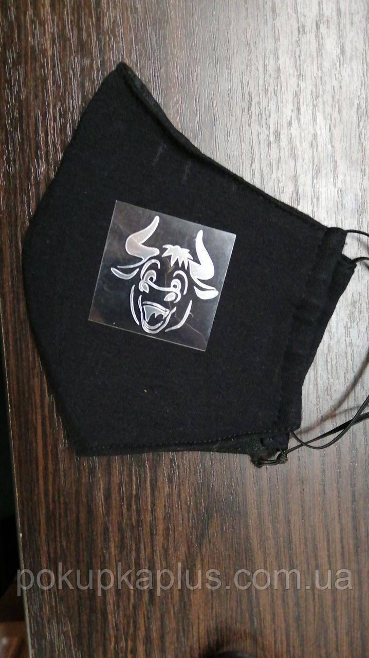 Термонаклейка на маски для лица Маски Термонаклейки наклейки переводки накатка М-1