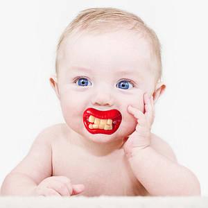 Соска с зубами Зубастики