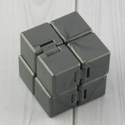 Кубик антистресс Infinity Cube (серебро), фото 2