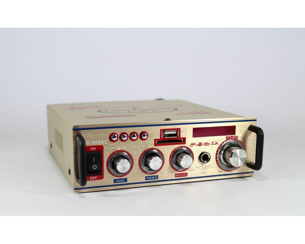 Підсилювач звуку AMP 004 Small, звуковий підсилювач потужності, портативний підсилювач звуку amp