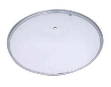 Крышка стеклянная 28 см UN-2207 б/к