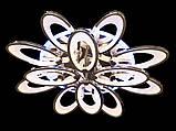Светодиодная LED люстра с диммером и цветной подсветкой 200W, фото 3