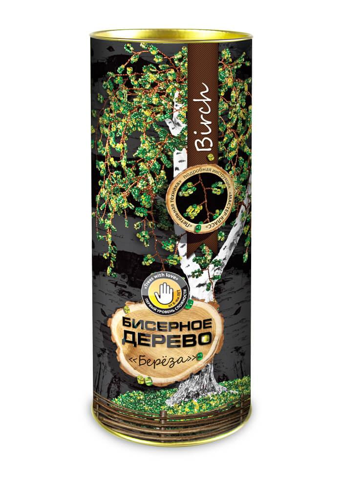 Бісерне дерево Береза, в тубі БД-01