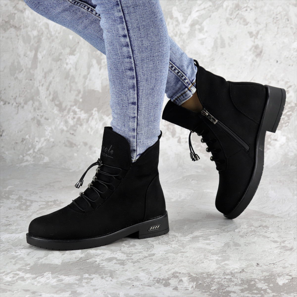 Женские зимние ботинки Paddie черные 1391 (36 размер)