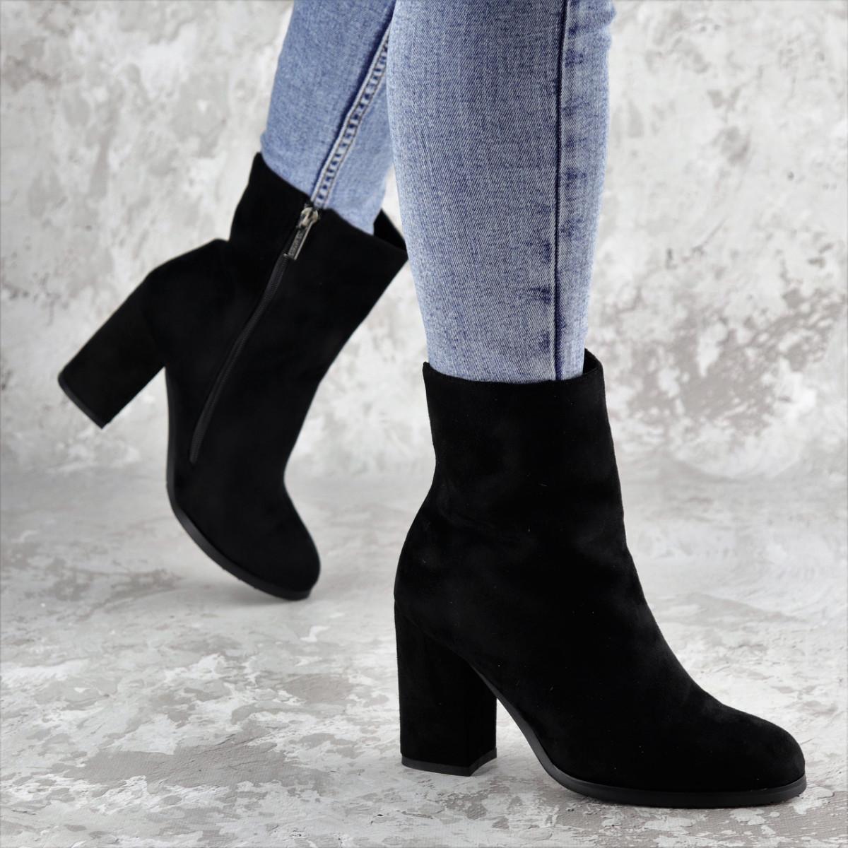 Женские зимние сапожки Dylan черные 1315 (37 размер)