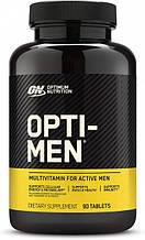 Optimum Nutrition Opti-Men 90 таб. Витамины для мужчин.
