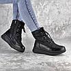 Ботинки дутики женские зимние черные Lizzie 2313 (36 размер), фото 2