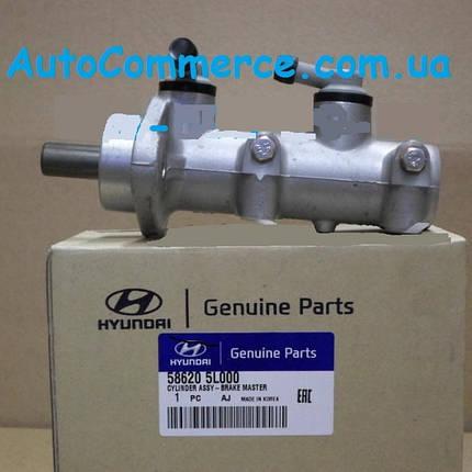 Цилиндр тормозной главный 586205L000 Hyundai HD 65, HD 78 Е-3 Хюндай, фото 2