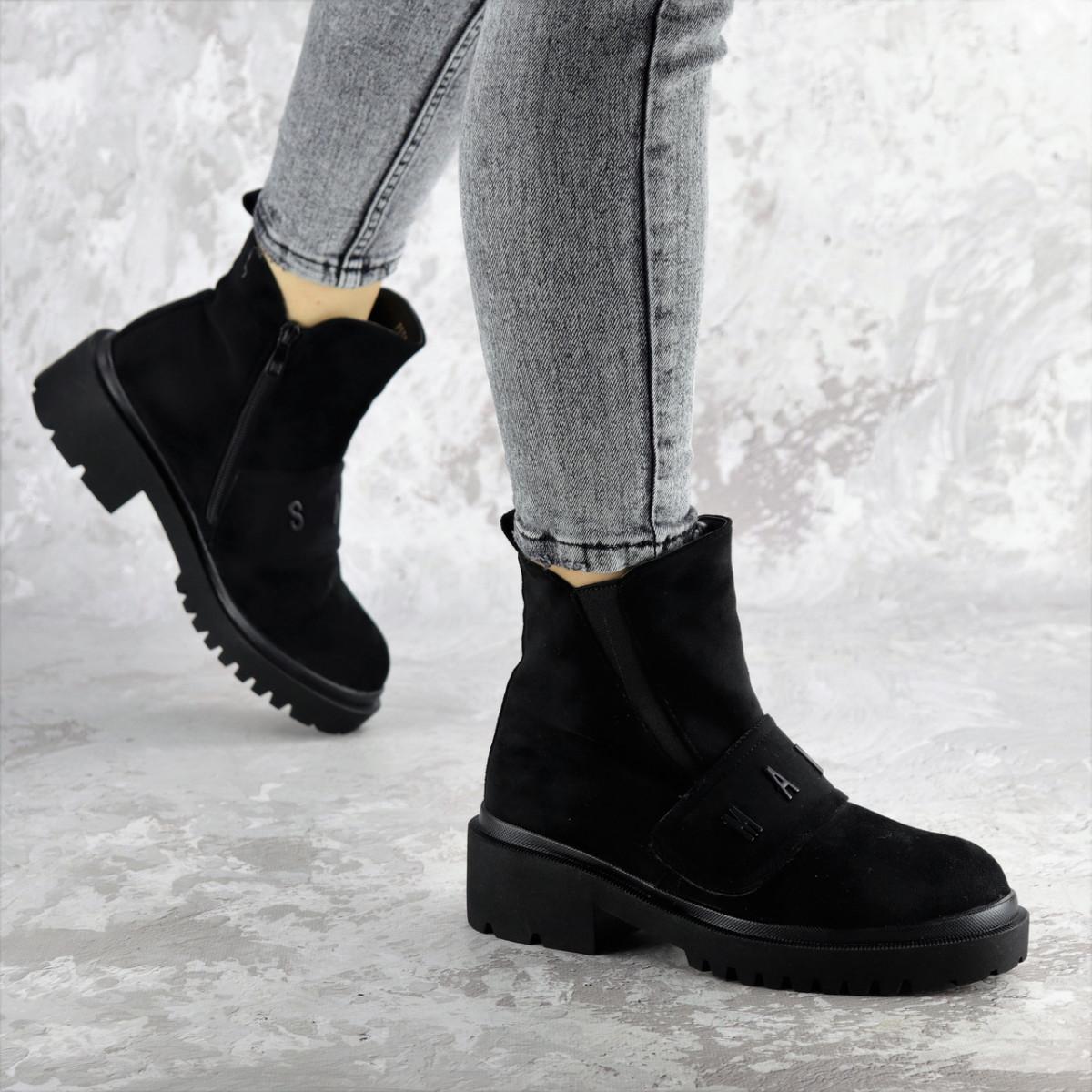 Ботинки женские зимние черные Atticus 2329 (36 размер)