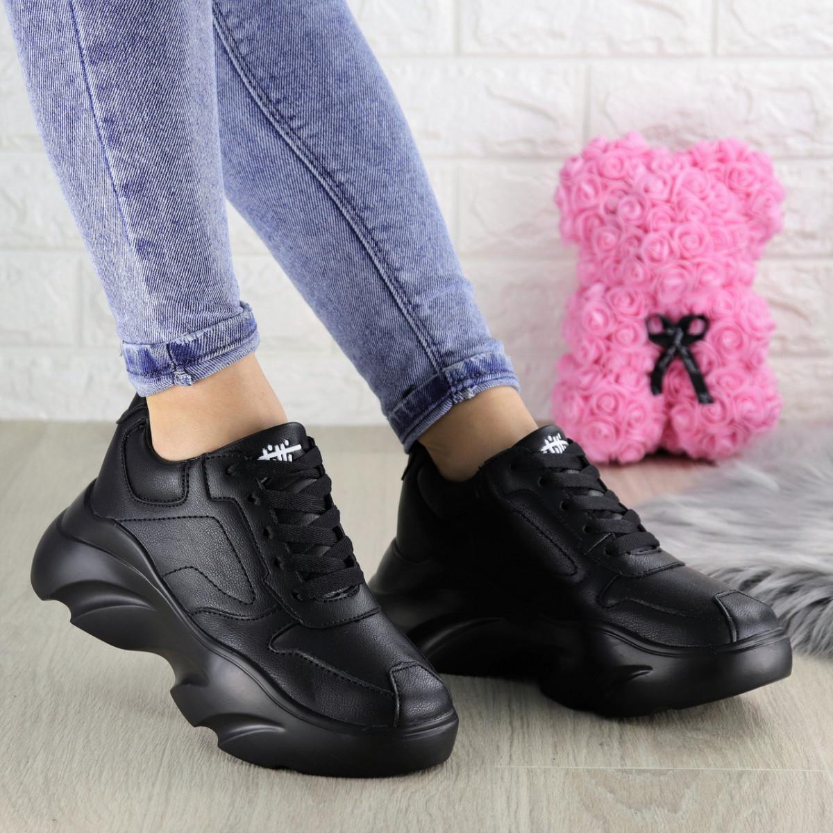 Женские кроссовки Finist черные 1307 (37 размер)