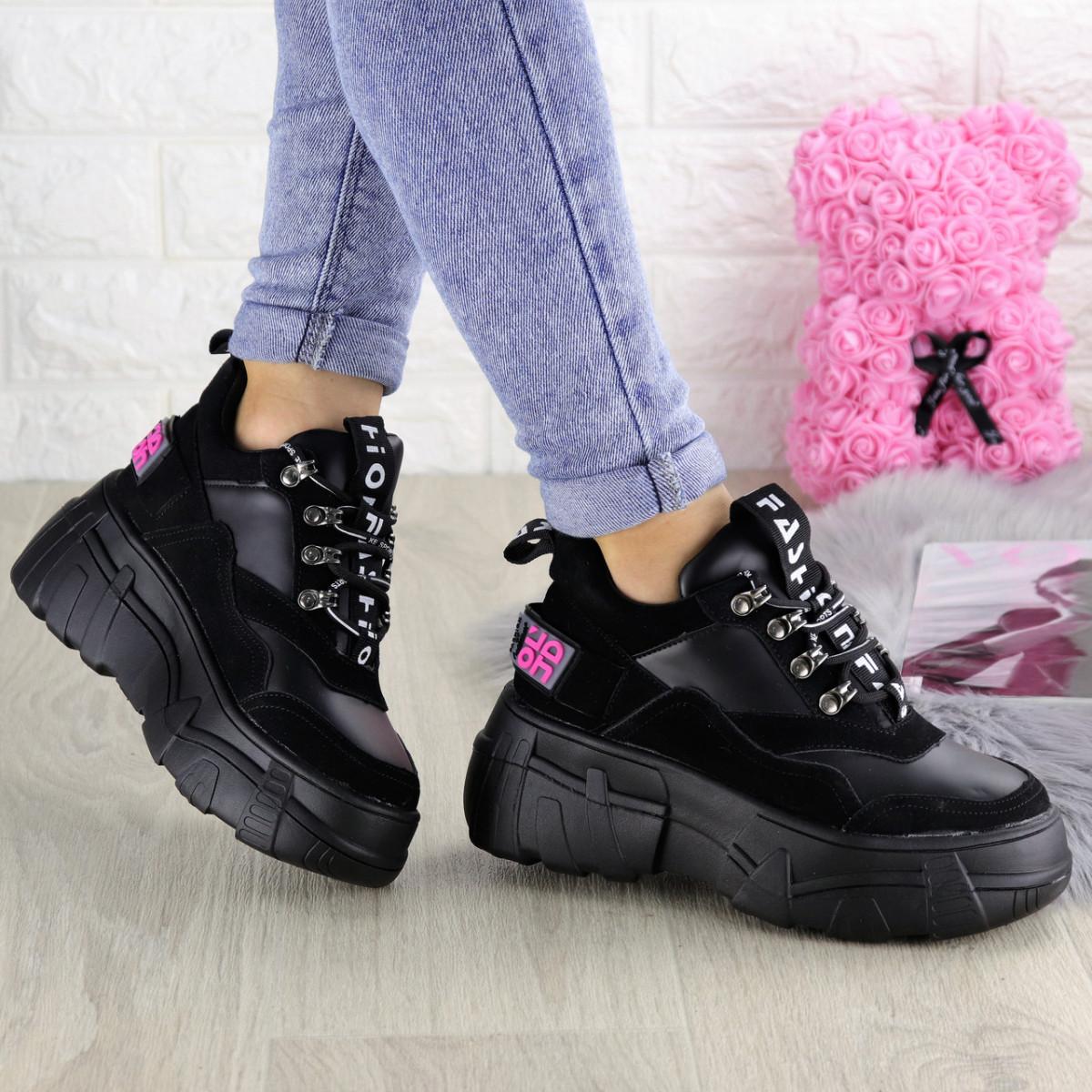 Женские кроссовки Harper черные 1302 (38 размер)