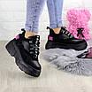 Женские кроссовки Harper черные 1302 (38 размер), фото 2