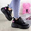 Женские кроссовки Harper черные 1302 (38 размер), фото 3
