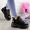 Женские кроссовки Harper черные 1302 (38 размер), фото 5
