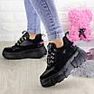 Женские кроссовки Harper черные 1302 (38 размер), фото 10