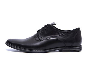 Мужские кожаные туфли классика VanKristi