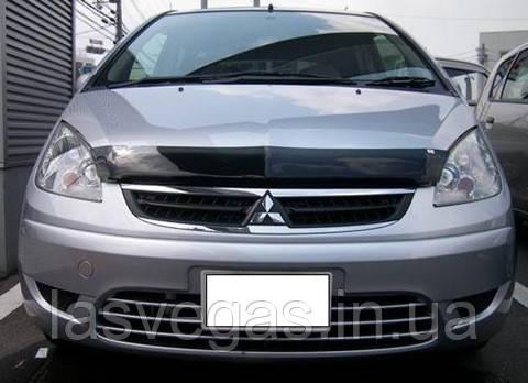 Дефлектор капота, мухобойка Mitsubishi Colt 2004-2008 (EGR)