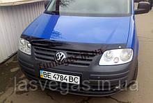 Дефлектор капота, Мухобойка Volkswagen Caddy 2003-2010 (SIM)