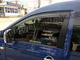 Дефлекторы окон, Ветровики Volkswagen Caddy 2003-2015/2016- (ANV), фото 2