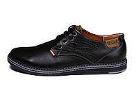 Мужские кожаные туфли Levis Stage 1 (реплика)