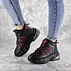 Кроссовки женские зимние черные Gram 2278 (38 размер), фото 3