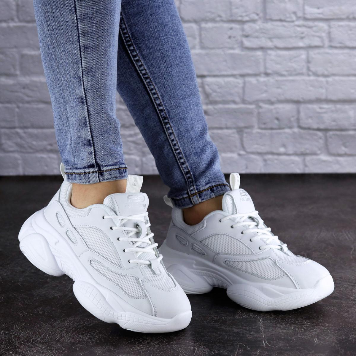 Женские кроссовки белые Bonita 1937 (37 размер)