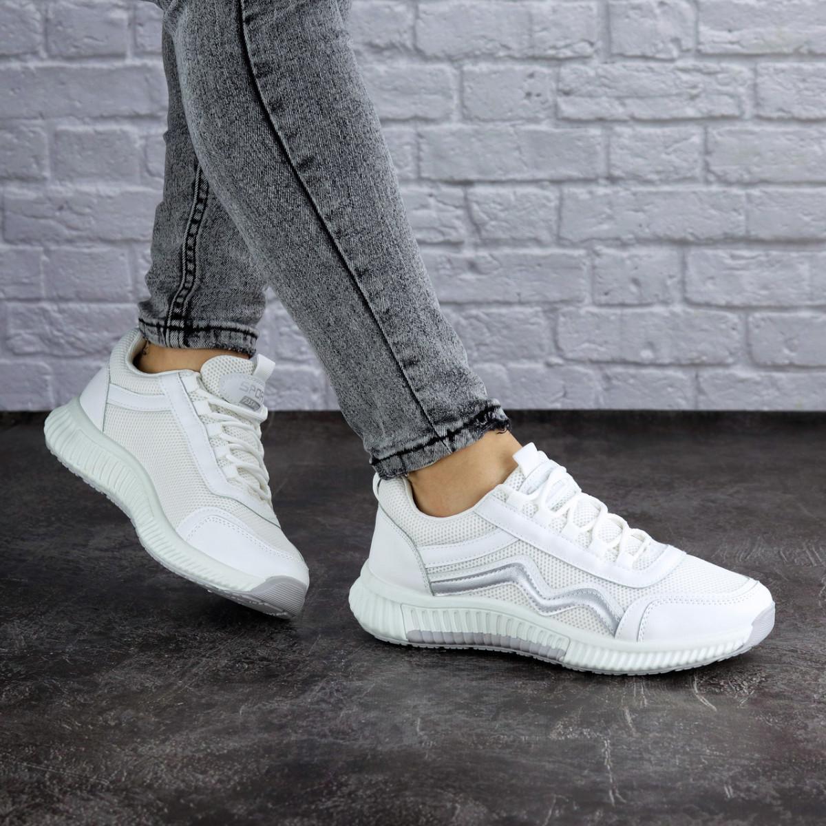 Женские кроссовки белые Brat 1989 (38 размер)
